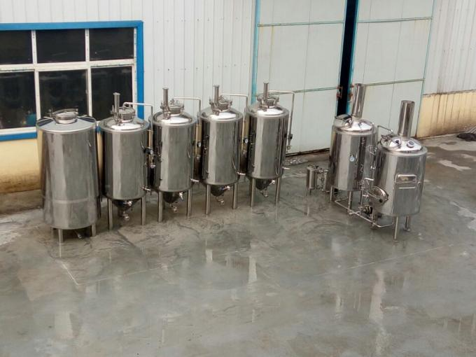 Mirror Polish 200 Liter Small Beer Brewing Equipment for homebrew and small brewery