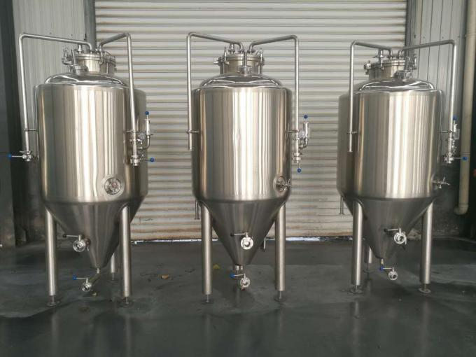 Brewpub Small Brewery Equipment , 2HL Beer Fermentation Nano Brewery Equipment