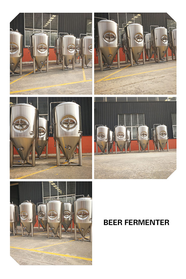 1000L Fermentation Tank Beer Brewing Equipment / Microbrewery Equipment