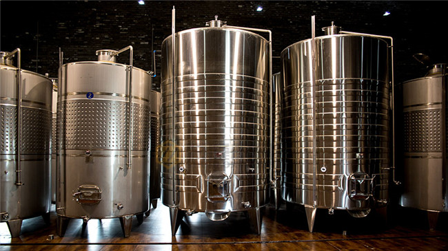 4000l Beer Fermentation Tanks For Wine / Fruit Wine Making 3 Years Warranty