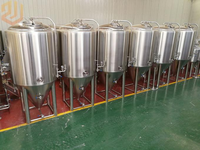 1000L Stainless Steel Bright Beer Tank Carbonation Stone Servicing Tank