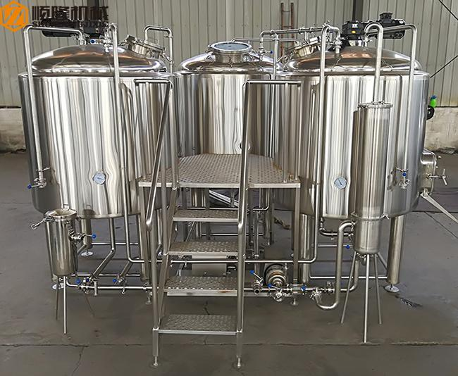10HL Brewhouse Equipment Electricity / Steam / Gas Heating For Beer Brewing