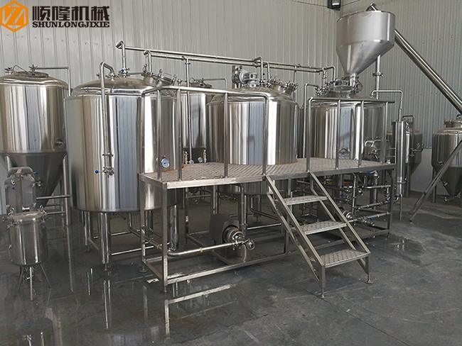 3000L Large Beer Brewing Equipment For brewery , stainless steel material , 380V , 50HZ