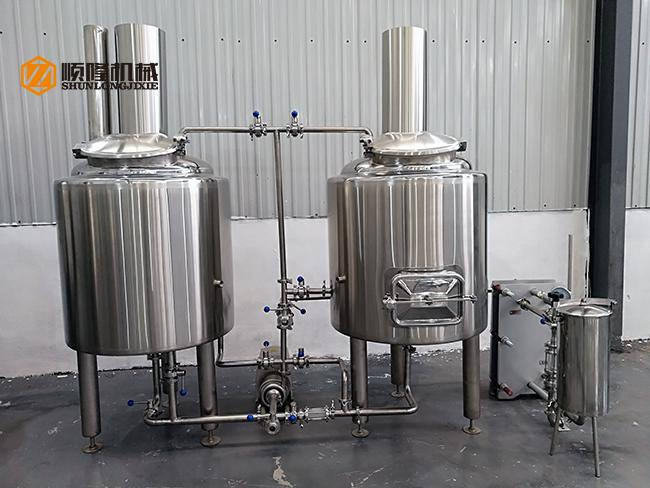 Mini Size Stainless Steel Beer Brewing Equipment Conical Fermenters CE Approved