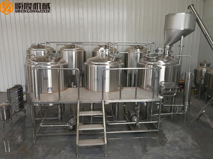 Professional Commercial Beer Brewing Equipment / Wine Making Equipment