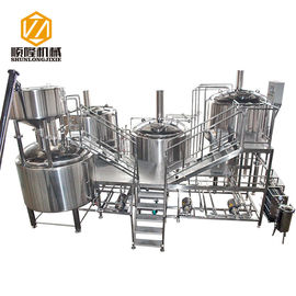 China Automatic Beer Production Line 30HL PLC Control Four Vessels Brewhouse supplier