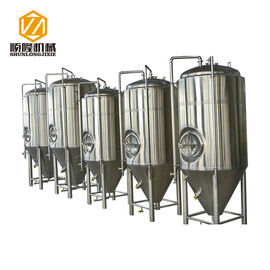 China Glycol Cooling Stainless Steel Fermentation Vessel 20HL 360° Coverage Spraying Ball supplier