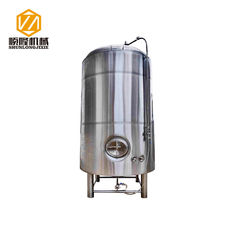 China 500L Stacked Up Bright Beer Tank , SS304 / 316 Brewing Brite Tank Welded Shell supplier