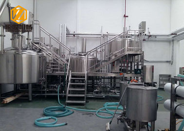 China Large Commercial Beer Brewing Systems 3000 Liter 2 Batch Per Day CE Certificated supplier