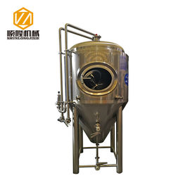 China 500L Mini Beer Brewery Equipment 2mm Exterior Shell Turnkey / Customeized Plants Type supplier
