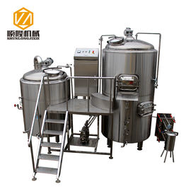 China 5HL Beer Production Equipment Large SS / Copper German Style For IPA supplier