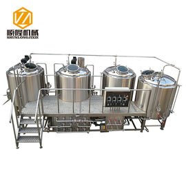 China SL-1200 Commercial Brewing Equipment Stainless Steel / Red Copper Material supplier