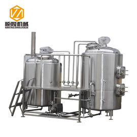 China Industrial Craft Beer Brewing Equipment 1000L Conical Fermenters Steam Heating supplier