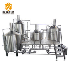 China 2500L Micro Beer Brewing Equipment , Easy Operating Complete Beer Brewing System supplier