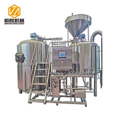 China Stainless Steel Complete Microbrewery System With Large Cross - Section Impeller supplier