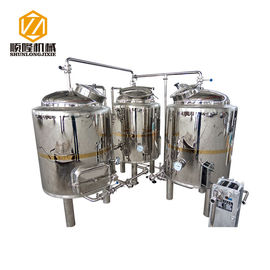 China SLET Small Brewing Systems 1000L Three Vessels Brewhouse ISO Approved supplier