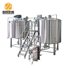 China Micro Craft Small Microbrewery Equipment 5HL Stainless Steel Energy Saving Type supplier