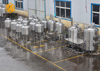 China 200L SUS304L Small Brewery Equipment , Electric Heating Small Brewing Systems supplier