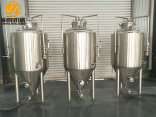 China Brewpub Small Brewery Equipment , 2HL Beer Fermentation Nano Brewery Equipment supplier