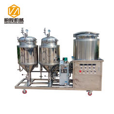 China SS304 Home Beer Brewing Systems Side Upward Manhole Automatic / Manual supplier
