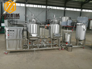 China Pub / Home Beer Making Machine , Stainless Steel Mini Beer Brewery Equipment supplier