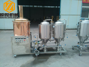 China Craft Home Beer Brewing Kit Full Stainless Steel With Two Beer Refills supplier