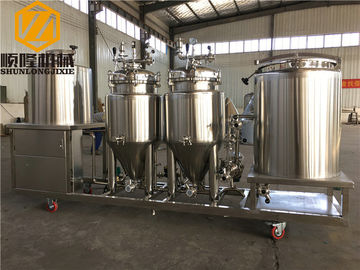 China Home Beer Making Equipment Two / Single Stage Heat Exchanger For Wort Cooling supplier