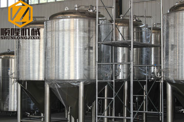 China Conical Stainless Steel Fermentation Tanks Beer Storage Customized Available supplier