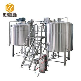 China 3000L Large Beer Brewing Equipment For brewery , stainless steel material , 380V , 50HZ supplier