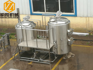 China Electric Heating Microbrewery Brewing Equipment ILT For Fermentation Cooling supplier
