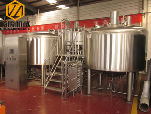 China Simple Setups Industrial Beer Making Equipment With 1000kg Malt Mill supplier