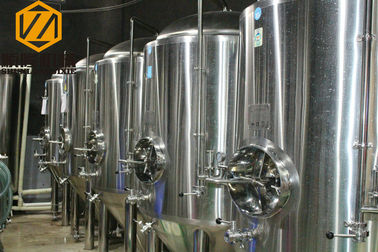 China 20HL SS Large Beer Brewing Equipment Steam Heating For Commercial supplier