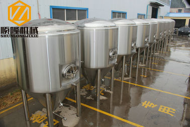 China Three Vessels Commercial Beer Making Equipment 40HL 380 V Power Supply supplier
