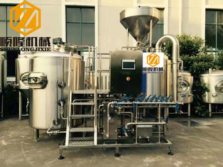 China Three Vessels Microbrewery Brewing Equipment , SS304 5HL Pro Brewing Equipment supplier