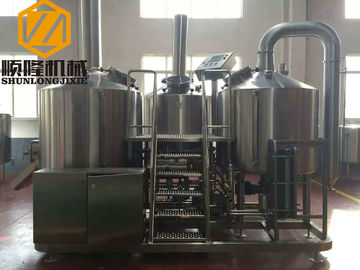China Complete Microbrewery Brewing Equipment 10HL Capacity 3mm Inner Thickness supplier