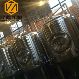 China 1000L Beer Fermentation Tanks , 2.7m Height Stainless Steel Conical Fermenter supplier