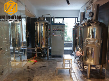 China Mirror Polish Brewhouse Equipment Steam Heated For Indoor / Outdoor Use supplier