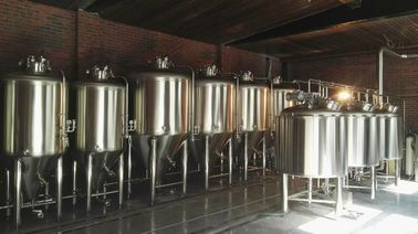 China 1000L Large Beer Brewing Equipment , Industrial Stainless Steel Beer Brewing System supplier