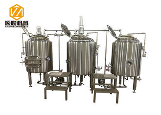 China 300L Pub Brewery In Line Micro Brewing Equipment For Craft Beer supplier