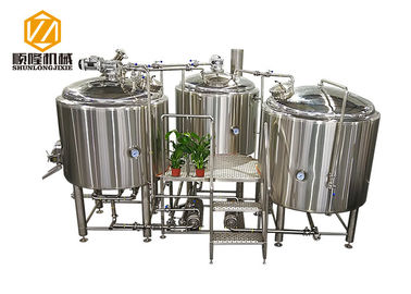 China SS304 / 316 Beer Making Machine 1.5Kw Power Raker Automatic Control supplier