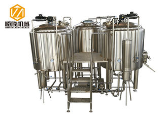 China manual control Beer Brewing Equipment 1000L microbrewery with indoor condenser supplier