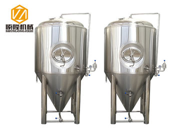 China 1000L Fermentation Tank Beer Brewing Equipment / Microbrewery Equipment supplier