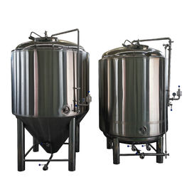 China 2000L Beer Fermentation Tanks , All Jacket Ss Brewtech Brite Tank supplier