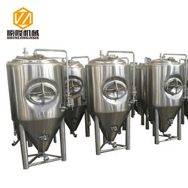 China Large Beer Fermentation Tanks 4 Stainless Steel Legs With Leveling Foot Pads supplier