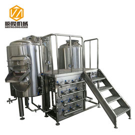 China Stainless Steel Brewing Systems , Beer Making Equipment CE CCC Certified supplier