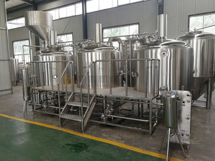 China SS 304 Micro Beer Brewing Equipment , Professional Beer Brewing Equipment supplier