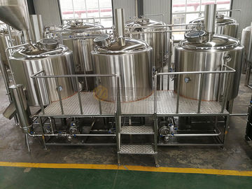 China 1000L Brewhouse Micro Beer Brewing Equipment Stainless Steel 304 / 316 Material supplier