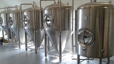 China Anti Rust Conical Beer Fermenter Stainless Steel 4 Bars Working Pressure supplier