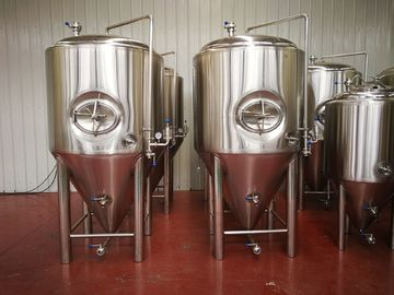 China Glycol Jacket Conical Beer Fermenter 10bbl Food Grade Ss304 Ss316 Material supplier