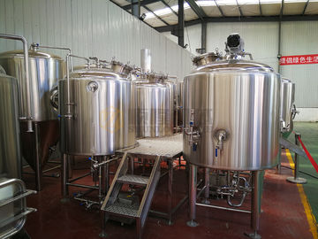 China 5 Bbl Beer Production Equipment Semi Automatic Control For Micro Brewery supplier